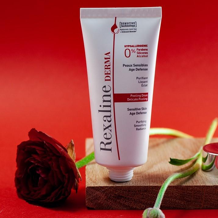 Мягкий пилинг для чувствительной кожи Rexaline Derma Peeling 30мл