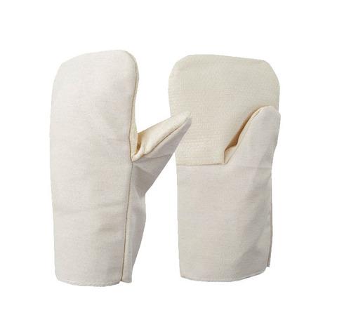 Утепленные рабочие рукавицы ХБ (двунитка) на двойном ватине