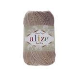 Пряжа Alize Bella Batik меланж бежево-коричневый 1815