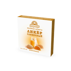 Желейные конфеты со вкусом сливочного ликёра, 100 г