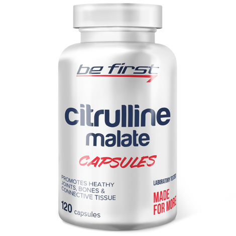 Be First Citrulline malate capsules, 120 капсул