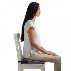 Ортопедическая подушка с откосом на сиденье TRELAX Spectra Seat П17