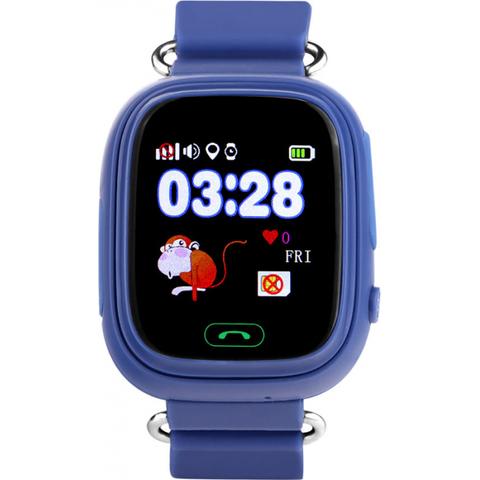 Умные детские часы с GPS трекером Smart Baby Watch Q80  цвета сенсорные
