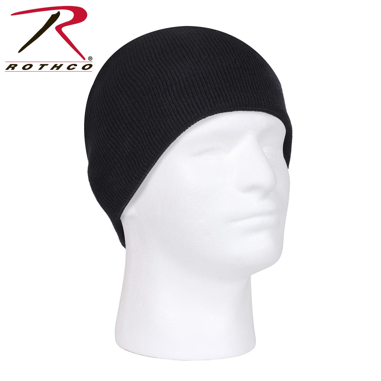 Шапка акриловая - Rothco Skull  (черная)