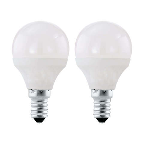 Лампа (комплект 2 шт.) Eglo LED LM-LED-E14 2X4W 320Lm 3000K P45 10775