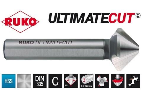 Зенковка ц/х 90° 8,3мм (DIN74BF M4) DIN335C 3z HSSE-Co5 RunaTec UltimateCut Ruko 102771EP