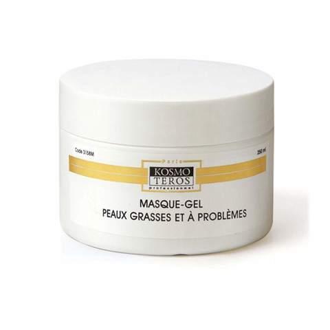 Гель - маска для жирной и проблемной кожи (холодное гидрирование), Masque gel peaux grasses et a problemes, Kosmoteros (Космотерос), 250 мл