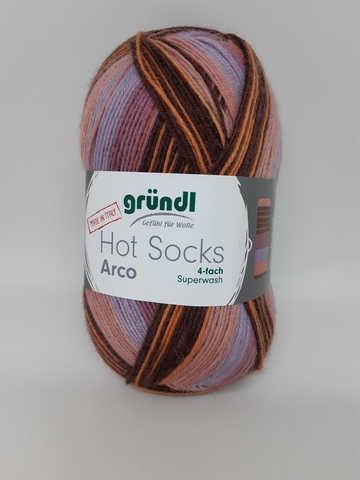 Носочная пряжа Gruendl Hot Socks Arco купить