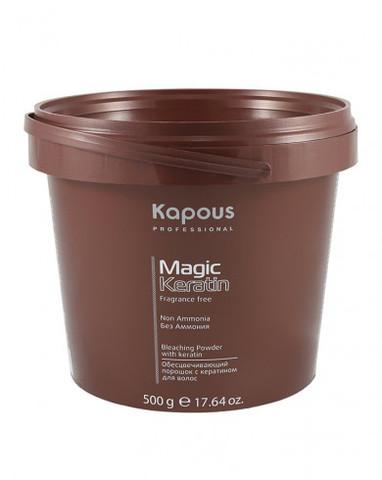Обесцвечивающий порошок с кератином для волос «Non Ammonia», 500 г