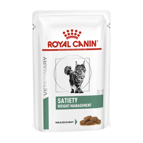 Royal Canin Satiety Weight Management Консервы для кошек контроль веса