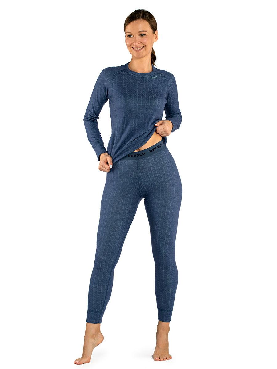 Devold термобелье брюки Duo Active Woman Long Johns Vintage
