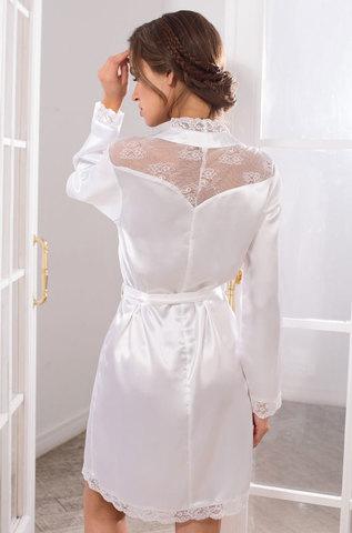 Женский халат  MIA-MIA Lady in white Леди в Белом 17253