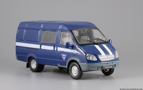 Модель Авто на службе №19 ГАЗ-2705 ГАЗель Спецсв