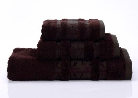 Bamboo PR-1 шоколад бамбуковое махровое  полотенце Valtery