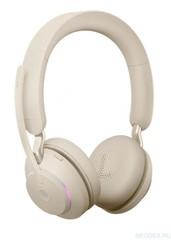 Jabra Evolve2 65 Stereo MS беспроводная гарнитура бежевая ( 26599-999-998 )
