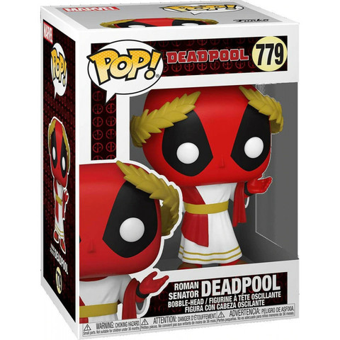 Deadpool 30th Roman Senator Funko Pop! Vinyl Figure || Дэдпул Римский сенатор