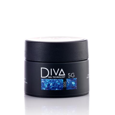 Гель-лак DIVA Glitter Gel 005 5г