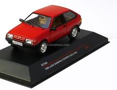 VAZ-2108 Lada Samara red 1986 IST096 IST Models 1:43