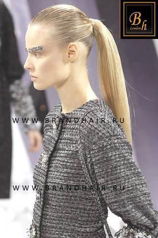 Накладной хвост оттенок #23-Светло-русый пепельный блонд-40 CM