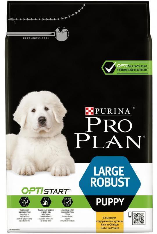Сухой корм Сухой корм, Purina Pro Plan Puppy, для щенков крупных пород с мощным телосложением, с курицей и рисом щ_кр_мощ_кур.jpg