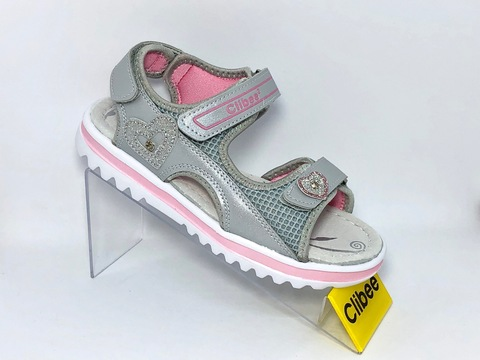 Clibee Z533 Silver/Pink 32-37