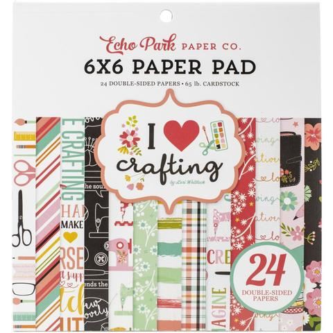 Набор двусторонней бумаги 15х15 см -I Heart Crafting  -24л