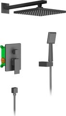 Душевая система встраиваемая, чёрная матовая Timo Selene SX-2069/03SM фото