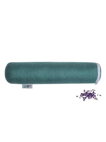 Валик для спины с лавандой 10*30 см взрослый, ЧУДО валик, Beauty365, с двойным чехлом, Бьюти 365