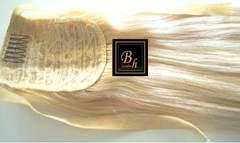Накладные хвосты из 100% натуральных волос