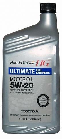 HONDA Ultimate Full Synt 5W20 SN Масло моторное синт. SN, GF-5 (пластик/США)
