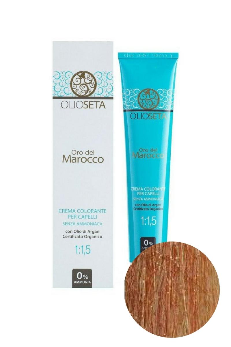 Крем-краска для волос 8.4 Светлый блондин медныйOro del Marocco, Barex
