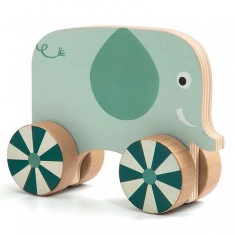 Развивающая игра - Прикрути колёса Djeco Животные