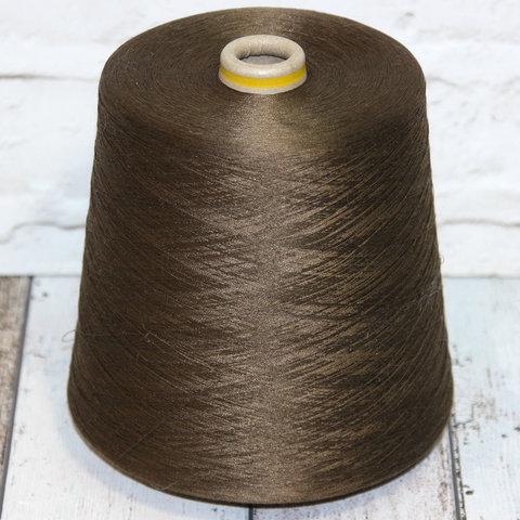 Шелк 100%  HASEGAWA HK1202  2/120 зелено-коричневый