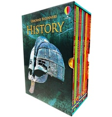 Usborne Beginners History 10 Books Collection