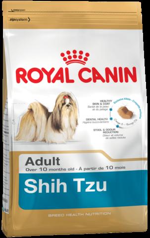 Для собак породы ши-тцу в возрасте с 10 месяцев