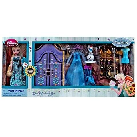 Дисней Холодное торжество набор с мини-куклой Эльзой