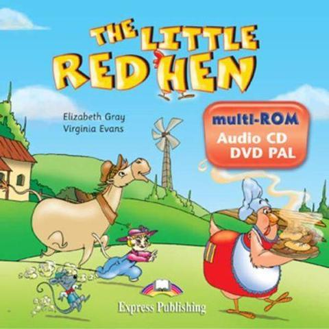 The Little Red Hen. multi-ROM (Audio CD / DVD Video PAL). Аудио CD/ DVD видео