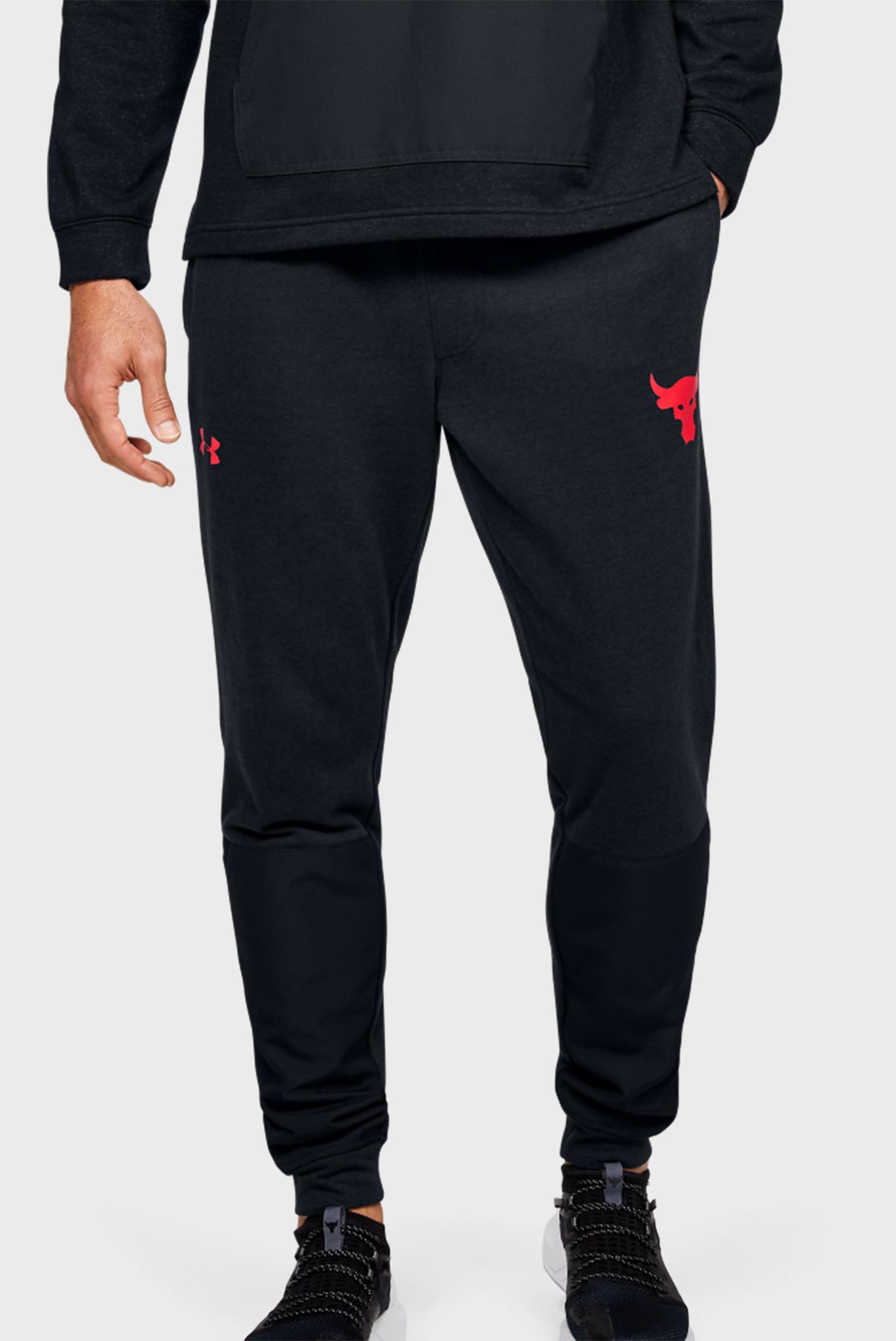 Мужские черные спортивные брюки Project Rock Terry Jogger Under Armour