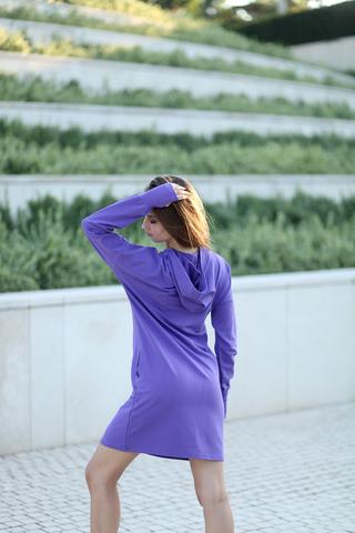 Фиолетовое худи купить