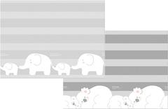 Parklon Двухсторонний коврик Prime Living 180x200x1 см, Коалы/Слоники за хвостики