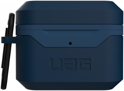 Чехол с карабином Urban Armor Gear (UAG) Standard Issue Hard Case 001 для AirPods Pro, цвет Темно-синий (Mallard)