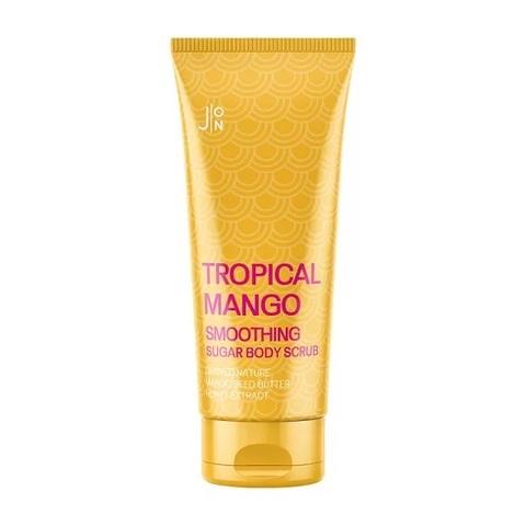 Скраб для тела J:ON Tropical Mango Smoothing Sugar Body Scrub с тропическими фруктами 250 мл
