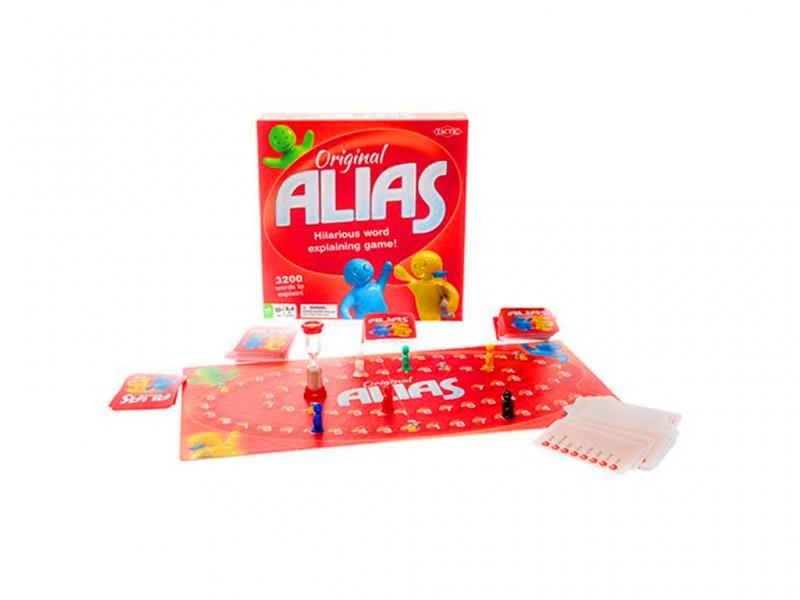 Настольная игра Элиас (Alias скажи иначе - 3)