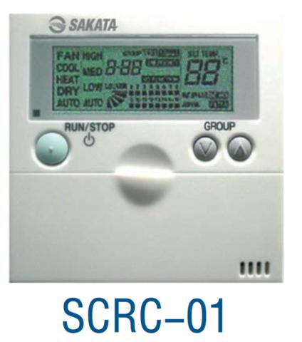Центральный пульт VRF-системы Sakata SCRC-02