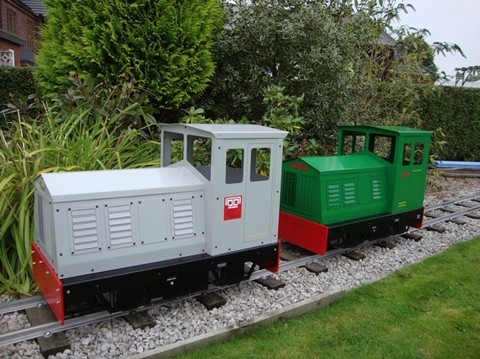 Garden Rail Локомотив Loco 2 на колею 12,7 см и 17,8 см, электрический