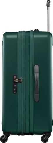 Чемодан Victorinox Etherius 17.1, с возможностью расширения на 4 см, зеленый, 47x31x75 см, 78 л