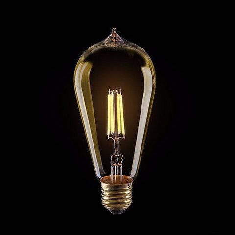 Светодиодная ретро лампа Эдисон ST64 LED 4W E27