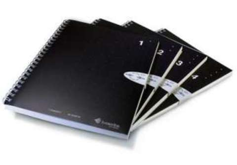 Блокнот формата А5 для Livescribe Pulse Smartpen (№ 1-4)