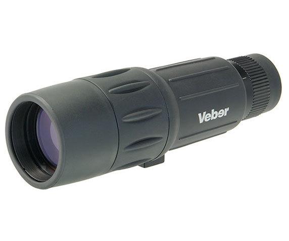 Водонепроницаемый монокуляр Veber 10-25 42 черного цвета