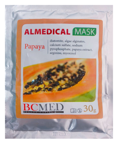 *Альгинатная маска (BCMED/Папайя/30гр)